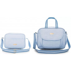 Kit Bolsa Honey Baby 61824 Topázio Cavalinho Azul