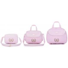Kit Bolsa Maternidade Honey Baby 111253 Esmeralda Rosa