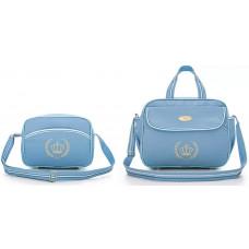Kit Bolsa Maternidade Honey Baby 11121 Esmeralda Azul