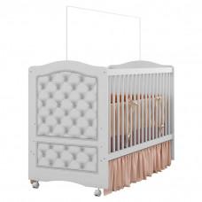 Berço Americano Fantasy Baby Design Capitonê - Móveis Estrel