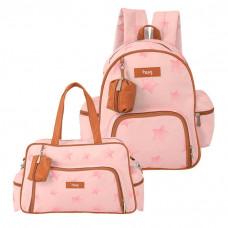 bolsa-e-mochila-maternidade-ceu-estrelado-rosa-hug