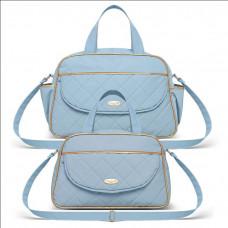Bolsa Maternidade Kit 2 Peças Selena Azul - Classic for Bags