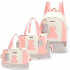 bolsa-maternidade-kit-3-pecas-com-mochila-austin-rosa-hug