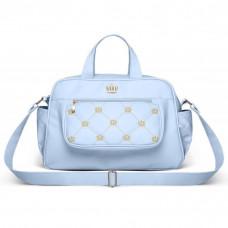 Bolsa Maternidade Vitória M Nitex Azul - Classic For Bags