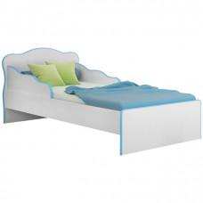 Mini Cama Qmovi Doce Sonho 113 Branco Azul