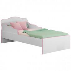 Mini Cama Qmovi Doce Sonho 113 Branco Rosa