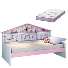 cama-cainha-com-colchão-pura-magia