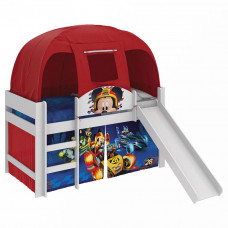 Cama Infantil com Escorregador e Barraca Mickey Disney Play