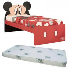 Cama Infantil Mickey Plus 8A com Colchão - Pura Magia