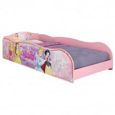 cama infantil princesas disney plus rosa 8A pura magia