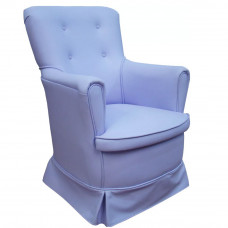 Poltrona Canaã Baby Aconchego Fixa Azul