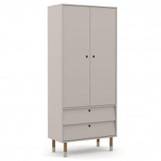 guarda-roupa-infantil-2-portas-retro-up-cinza-eco-wood-matic