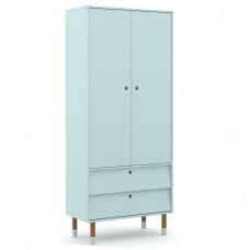 guarda-roupa-infantil-2-portas-retro-up-menta-eco-wood-matic
