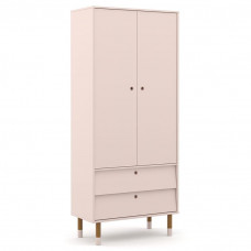 guarda-roupa-infantil-2-portas-retro-up-rosa-eco-wood-matic
