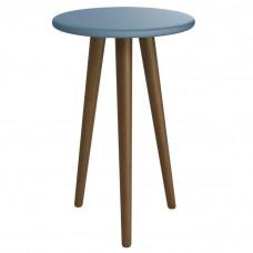 Mesa de Canto Theo Azul Amadeirado – Reller