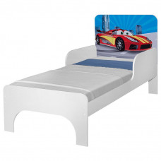 Mini Cama Infantil Carros Flash JM Barreto