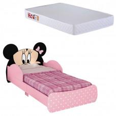 Mini Cama Infantil Minnie Disney 7A com Colchão Ortobom 150x