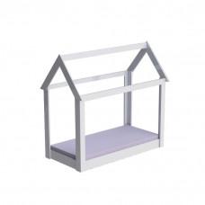 Mini cama Montessoriana Manu Branco Brilho – Carolina Móveis