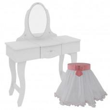 Penteadeira Infantil Make Clean e Banqueta Encanto Clean 9A