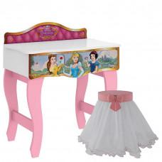 Penteadeira Princesas Disney Premium e Banqueta Encanto Clea