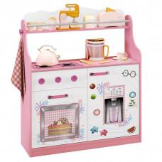 Porta Brinquedos Kitchen Branco Rosa Acetinado – Móveis Estr