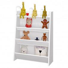 Porta Brinquedos Teco Branco Acetinado – Móveis Estrela