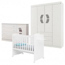 Quarto de Bebê Belly 4 Portas