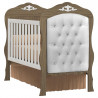 6Quarto de Bebe Realeza com Comoda 2 Portas Branco Acetidado